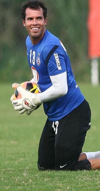 Marcelo Lomba está a dois jogos de completar 100 atuações com a camisa do tricolor baiano - Foto: Fernando Amorim/ Ag. A Tarde