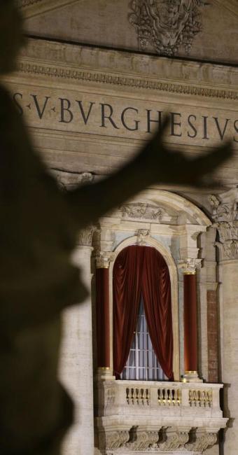 Anúncio da escolha do novo papa será feito na sacada da Basílica Vaticana - Foto: Renata Giraldi   Agência Brasil
