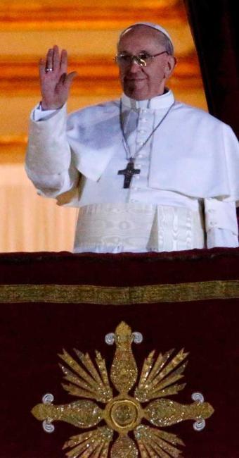 Cardeal Bergoglio adotará o nome de Francisco - Foto: Agência Reuters