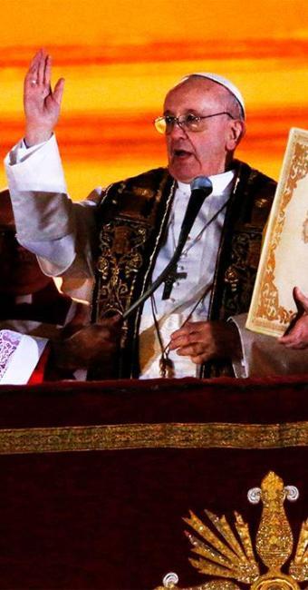 Novo pontífice tem 76 anos e adotará o nome de Papa Francisco - Foto: Agência Reuters