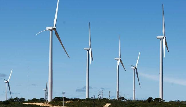 Aerogeradores produzirão quase o total da energia eólica gerada no Brasil - Foto: Fernando Vivas | Ag. A TARDE