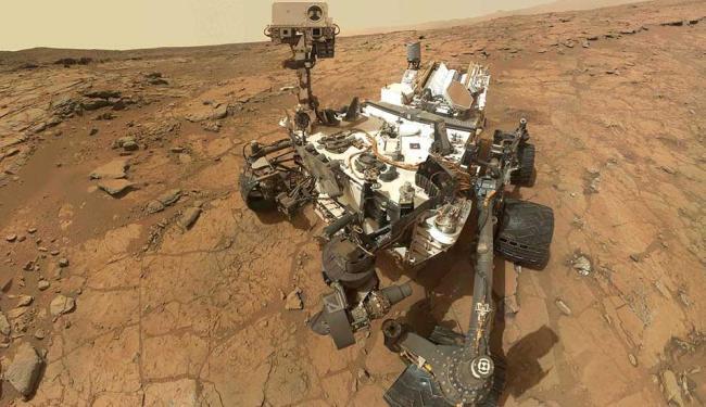 Curiosity tem a bordo computadores de emergência que assumem o controle em caso de pane no principal - Foto: Agência Reuters