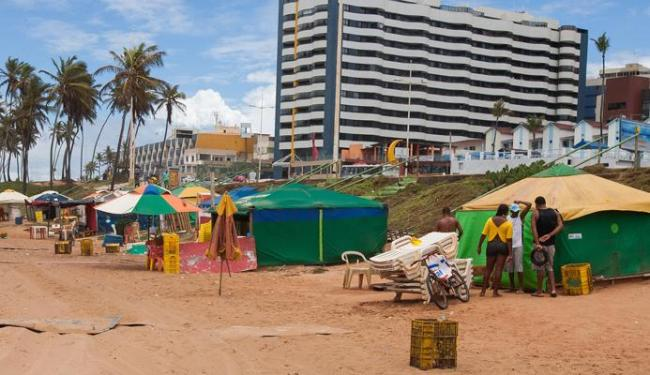 A praia de Jardim de Alah está na lista das localidades que passará por melhorias - Foto: Dorivan Marinho | Ag. A TARDE