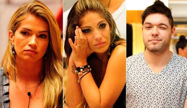 Fani, Anamara e Nasser formam o novo paredão do BBB 13 - Foto: Divulgação