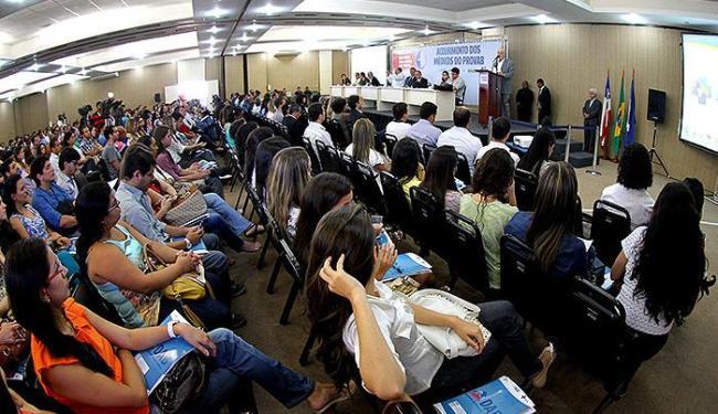 Médicos selecionados para o Provab participaram nesta segunda-feira de uma solenidade - Foto: Manu Dias l Secom