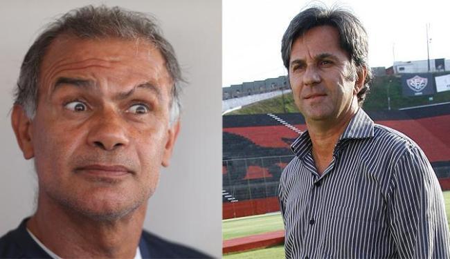 Jorginho e Caio Junior testam novos titulares para o início do Baiano - Foto: Montagem: Raul Spinassé e Margarida Neide / AG. A TARDE