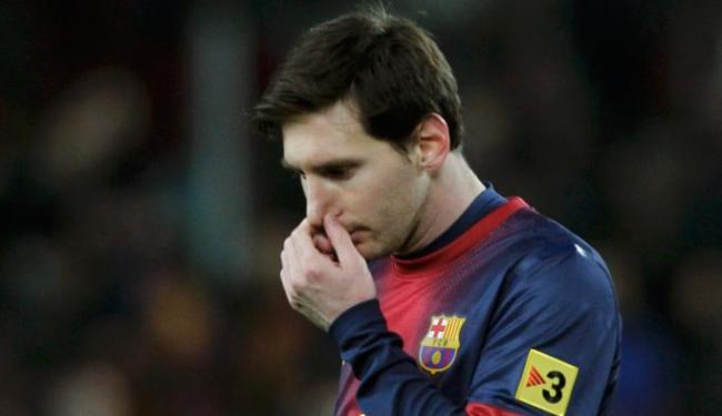 Messi disse que derrotas abalaram o grupo, mas prometeu dar volta por cima - Foto: Albert Gea / Agência Reuters