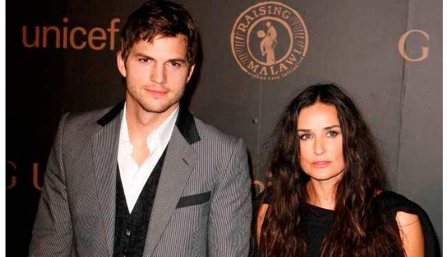 Kutcher e Moore citaram diferenças irreconciliáveis em seus documentos de divórcio - Foto: Agência Reuters