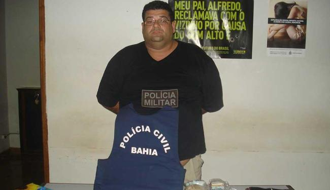 Fernando Pontes foi preso por furto qualificado e corrupção ativa ao tentar subornar um PM - Foto: Polícia Civil | Divulgação