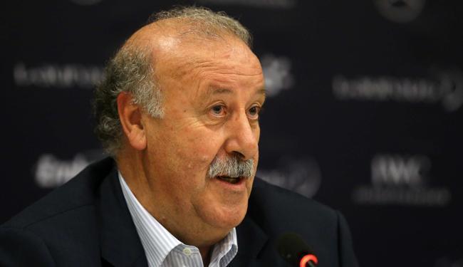 Para Del Bosque, jogadores podem chegar abalado com eliminação na Liga dos Campeões - Foto: Marcelo Sayão / Agência EFE