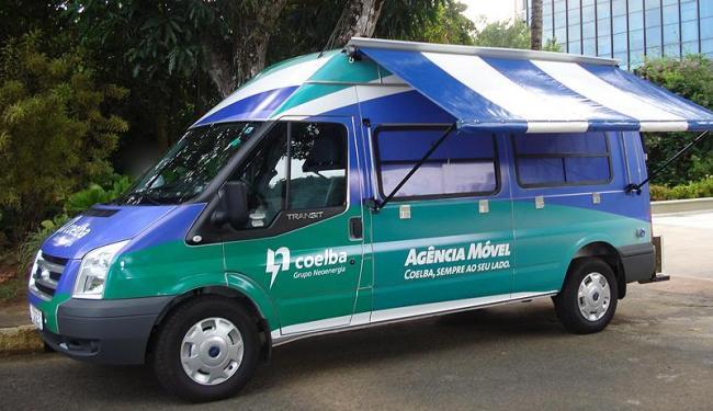 Agência Móvel da Coelba funciona das 8h30 às 16h30 nos dois locais - Foto: Coelba   Divulgação