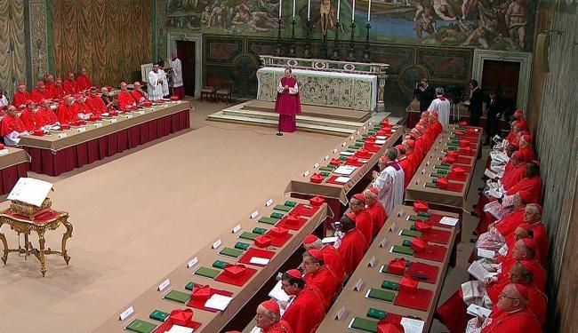 Pela regra, nada do que ocorrer durante o conclave pode ser revelado - Foto: Agência Reuters