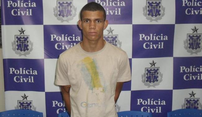 Rodrigo Souza foi preso enquanto tentava vender carro roubado no crime - Foto: Polícia Civil | Divulgação