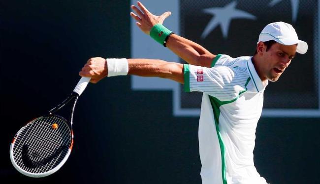 Sérvio Novak Djokovic tem bom resultado - Foto: Agência Reuters