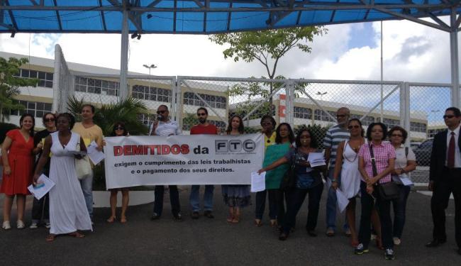 Os professores pedem o cumprimento de leis trabalhistas - Foto: Divulgação