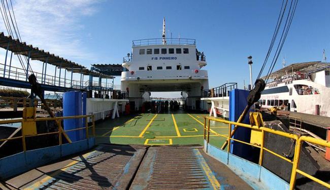 Empresa Internacional Marítima será responsável pela gestão do ferry durante os próximos seis meses - Foto: Manu Dias   Secom