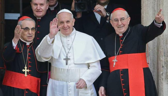 O 1º Papa das Américas rezará neste domingo o primeiro Angelus no Vaticano - Foto: Agência Reuters