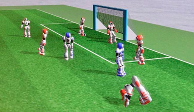 Os robôs têm comandos próprios desenvolvidos por inteligência artificial - Foto: Bahia Robotic Team   Arquivo