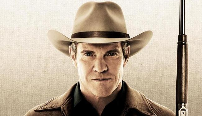 Dennis Quaid vive o xerife Lamb na série