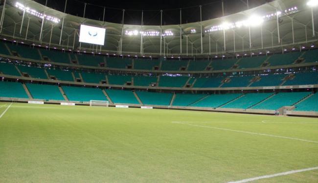 Estádio baiano deve ganhar alcunha Itapaiva Arena Fonte Nova até maio, antes da entrega à Fifa - Foto: Joá Souza/ Ag. A Tarde