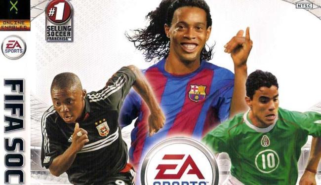 Meia norte-americano sondado pelo Bahia foi um dos destaques da capa do game Fifa 2006 - Foto: Reprodução / Divulgação