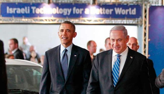 Obama e o primeiro ministro de Israel Benjamin Netanyahu visitam exposição de tecnologia - Foto: Agência Reuters
