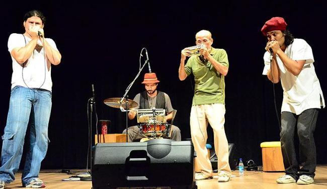 Shows do trio de gaitas Zona Harmônica difundem a cultura do instrumento - Foto: Tainã El-Bachá   Divulgação