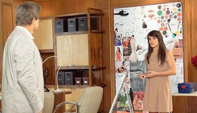 Felipe afirma que Carolina não ocupará o cargo que quer - Foto: Reprodução | TV Globo