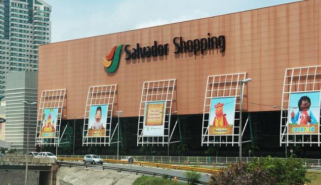 Salvador Shopping será um dos únicos a funcionar durante a Sexta-feira da Paixão - Foto: Joá Souza   Agência A Tarde