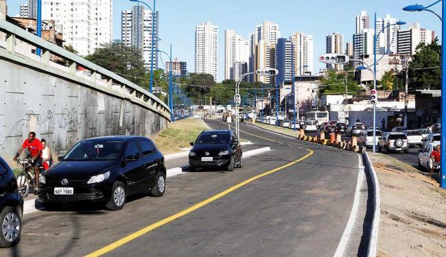 Obra de macrodrenagem e requalificação urbanística foram entregues na quarta-feira - Foto: Eduardo Martins | Agência A Tarde