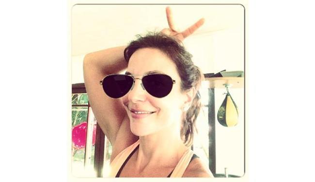 Ivete usou o bom-humor e postou uma foto no Instagram desejando Feliz Páscoa - Foto: Reprodução   Twitter