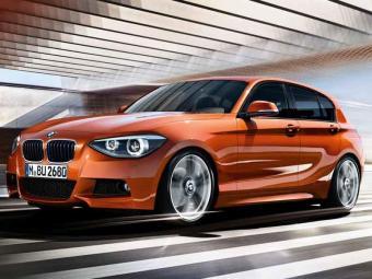 O hatch premium BMW 125i M Sport tem 218 cavalos - Foto: Divulgação