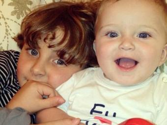 Davi, de 4 anos, e Rafael, de 7 meses - Foto: Reprodução | Instagram