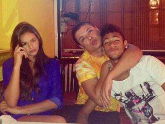 A brincadeira foi montada por Neymar, David Brazil e Bruna Marquezine - Foto: Reprodução | Instagram
