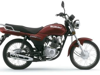 Suzuki GS120 irá chegar em maio - Foto: Divulgação