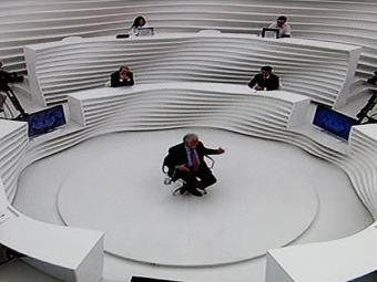 Sabatinado por 1h30, o governador da Bahia respondeu a questões de política estadual e nacional - Foto: Lúcio Távora l AG. A Tarde l Reprodução TV