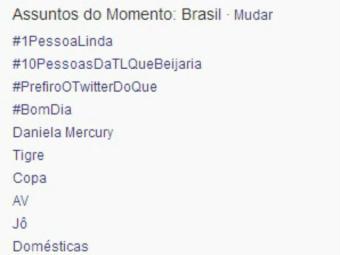 O nome de Daniela Mercury figurou entre os assuntos mais comentados do Brasil e do mundo - Foto: Reprodução | Twitter