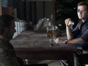 Rick e o Governador em encontro para negociar possível convivência pacífica entre seus grupos - Foto: Divulgação