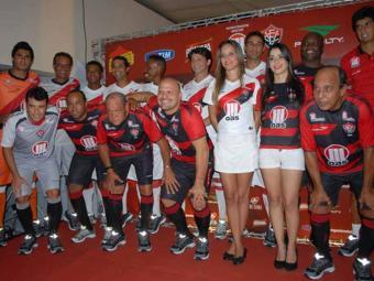 A partir do Ba-Vi do próximo domingo, 7, na Arena Fonte Nova, Vitória jogará como novo padrão - Foto: Esporte Clube Vitória | Divulgação