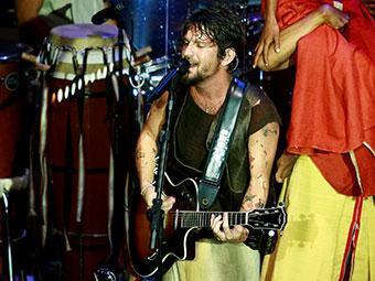 Neste domingo, Saulo subiu ao palco da Concha para finalizar DVD - Foto: Fernando Vivas | Ag. A TARDE