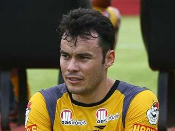 Renato Cajá ficou fora da partida diante Mixto na quarta-feira - Foto: Fernando Amorim   Agência A TARDE