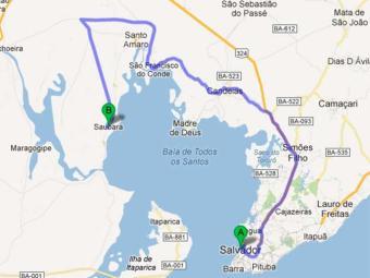 Confira como chegar em Saubara - Foto: Reprodução