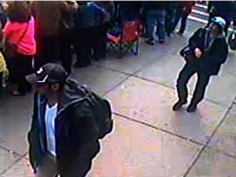 Suspeitos 1 e 2 - Foto: FBI | Divulgação