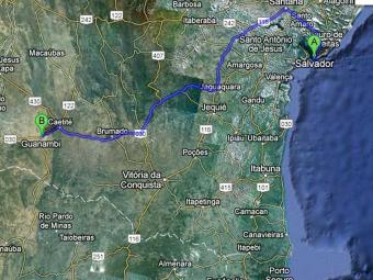 Cidade está distante 690 Km de Salvador para quem vai de carro - Foto: Reprodução | Ag. A TARDE