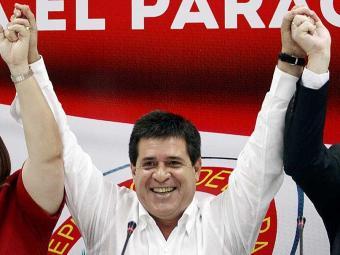 Resultado preliminar dá vitória a Cartes - Foto: Agência Reuters