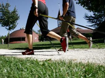 Este tipo de caminhada queima 40% mais calorias - Foto: Divulgação