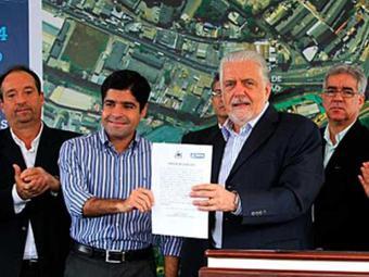 Assinatura de ordem de serviço para viaduto entre a BR-324 e a Avenida Paralela - Foto: Manu Dias/GOVBA