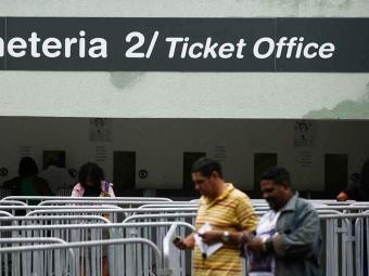 A três dias do clássico Ba-Vi na Arena Fonte Nova, apenas 15 mil ingressos foram vendidos - Foto: Raúl Spinassé | Ag. A TARDE