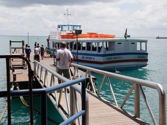 Movimento de passageiros é pequeno nos terminais de Vera Cruz e Náutico da Bahia - Foto: Joá Souza | Ag. A TARDE