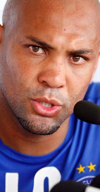 Caveirão falou sobre a briga com Jorginho, a blitz que foi pego no RJ e a atual condição de reserva - Foto: Marco Aurélio Martins | Ag. A TARDE